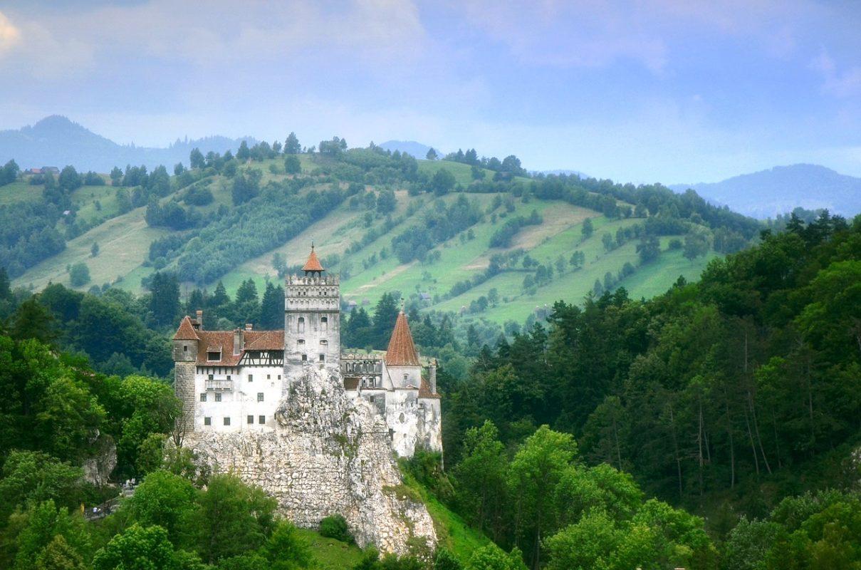 Castillo de Drácula, Transilvania, Rumanía