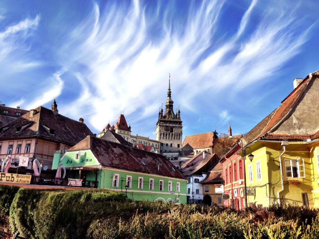 Sighisoara en Rumania