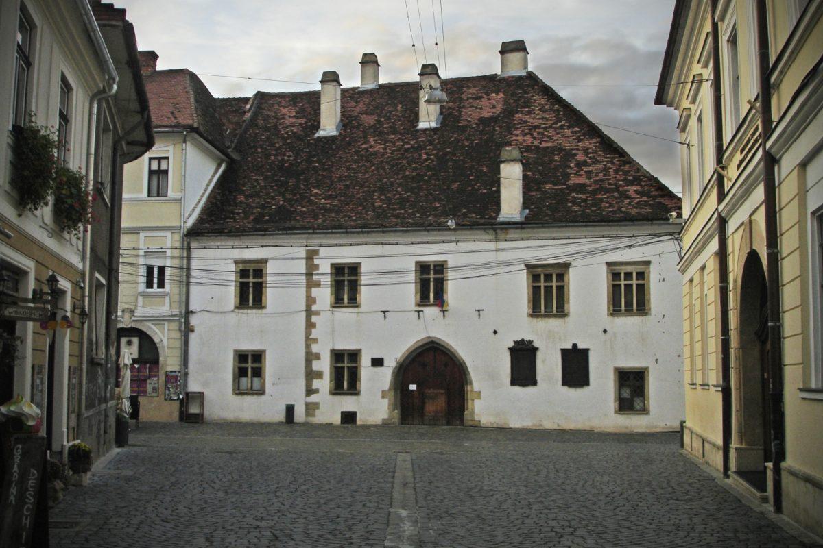 Casa Matei Corvin Cluj Napoca Rumanía