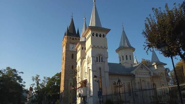 El Bastión de los Carniceros en Baia Mare, Maramures, Transilvania, Rumanía
